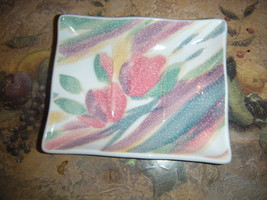 "CROSCILL COORDIANTE BY BATHELLE  SOAP DISH 4"" x 5"" - $3.95"