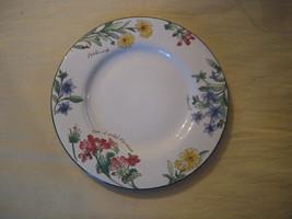 1997 Majesticware Sakura Stoneware Geranium dessert plate designed by Sue Zipkin - $2.97