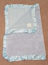 Pickles Baby Boy Security Blanket Blue Satin Edging Lovey Plush Scene We... - $49.49