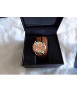 SO&CO New York Women's SoHo Quartz Brown Double Wrap Strap Watch - $58.04