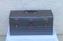 CRAFTSMAN  METAL TOOL BOX  6500 /  USED - $23.36