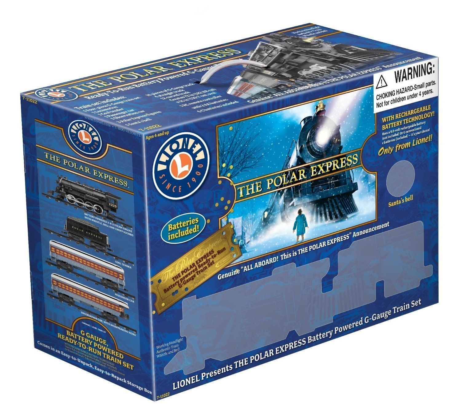 NEW Lionel Polar Express Train Set - G-Gauge