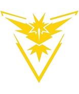 Pokemon Go Team Yellow (Instinct) Decal Stickers for Car/Truck/Laptop (4... - $4.99