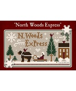 North Woods Express Freebie with floss bundle (5 skeins) Classic Colorwo... - $12.50