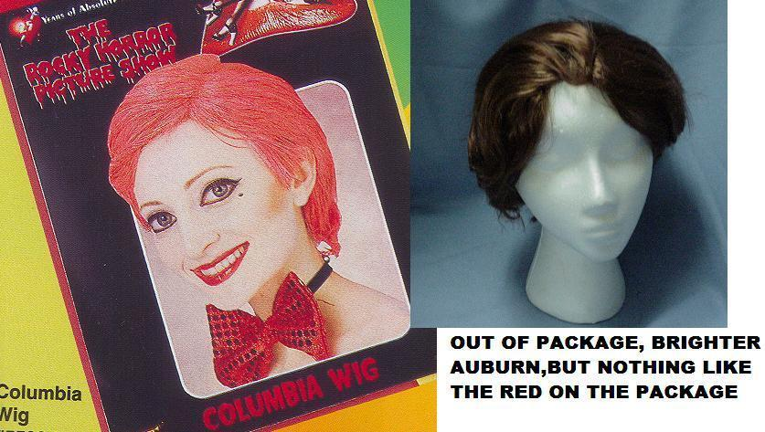 COLUMBIA from Rocky Horror WIG