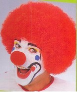 WIG CLOWN RED CURLY - $9.00