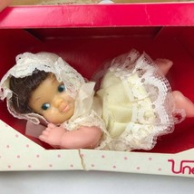 "Vintage Pee Wee fancy pants Girls Uneeda mini doll Hong Kong size 4""  - $8.90"