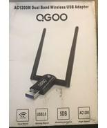 1200Mbps Wireless USB WiFi Adapter, QGOO WiFi Adapter,AC1200 Dual Band  - $25.89