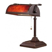 Bankers Desk Lamp Vintage Antique Shade Lighting Office Library Piano Li... - $84.10