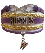 University of Washington UW Huskies Fan Shop Custom Infinity Bracelet Je... - $12.99