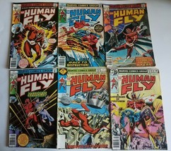 (Lot Of 6) The Human Fly 1, 2, 3, 4, 14 & 18 Reading Grade Marvel Comic Books - $4.95