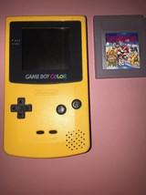 Nintendo game boy color yellow dandelion handheld system free shipping - $85.00