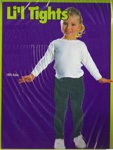 GREEN TIGHTS CHILD SZ LARGE 75-100 LBS., SZ 12-14 - $5.50