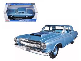 1963 Dodge 330 Blue 1/18 Diecast Model Car by M... - $60.00