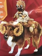 Star Wars Dog Costume BANTHA With Tusken Raider Halloween Rubie's  - $18.80