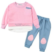 Kids Girls Clothes 2019 Spring/Autumn Baby Boys Girls Long Sleeve Cotton... - $16.90