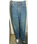 Vintage Levi's Jeans 550 Relaxed Fit Size 31 x 32 High Rise Waist Blue D... - $23.36