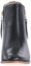 "NEW 1883 by Wolverine Women's Ella Black Leather 5"" Side Zip Ankle Booties NIB image 2"