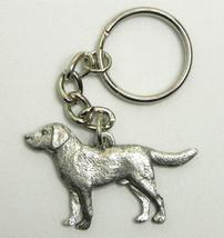 Labrador Retriever Lab Dog Keychain Keyring Harris Pewter MadeUSA Key Ch... - $9.48