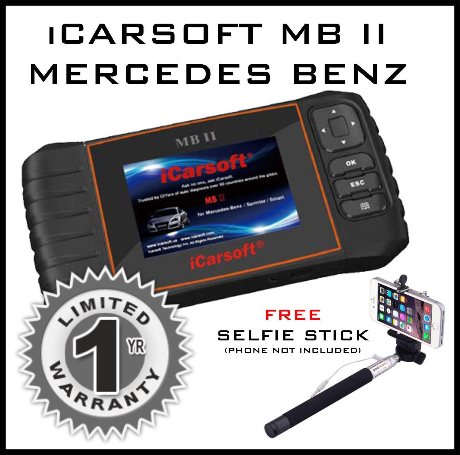 Mercedes benz sprinter diagnostic scanner tool srs abs for Best mercedes benz diagnostic tool