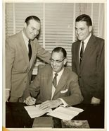 1955 NBC Contract Signing RALPH EDWARDS Org PHOTO D03 - $14.99