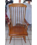Maple Nichols & Stone Rocker / Rocking Chair  (RP) - $399.00