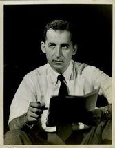 Ned CALMER 1950's NEWS Report Org TV Promo PHOTO F52 - $9.99