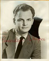 James GREGORY Rare MAN BEHIND the BADGE c1954 TV PHOTO - $14.99