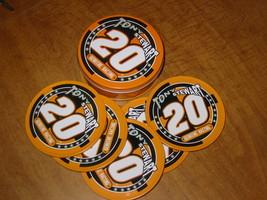 Tony Stewart # 20 Coaster Tin Set - $9.50