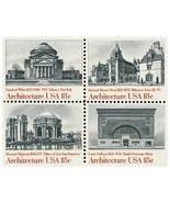 1981 18c Architecture, Block of 4 Scott 1928-31... - £1.55 GBP