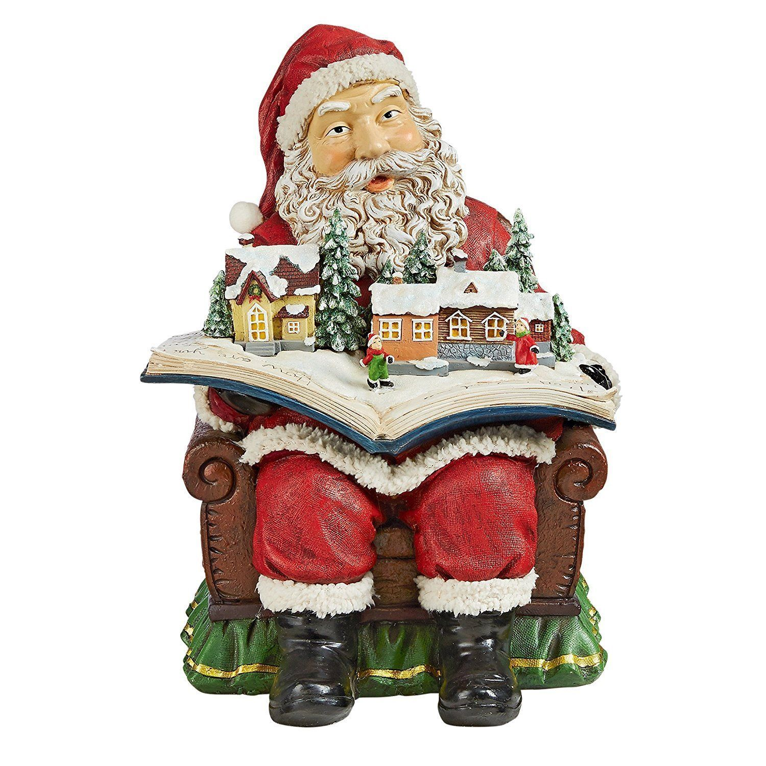 Santa Claus Decorations Uk: Santa Claus Clause Sculpture Father Christmas Kris Kringle