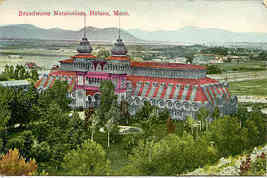 Helena Montana Broadwater Natatorium Post Card - $5.00