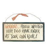 Ohio Wholesale Dog Warning Signs Wall Art, from... - $12.40