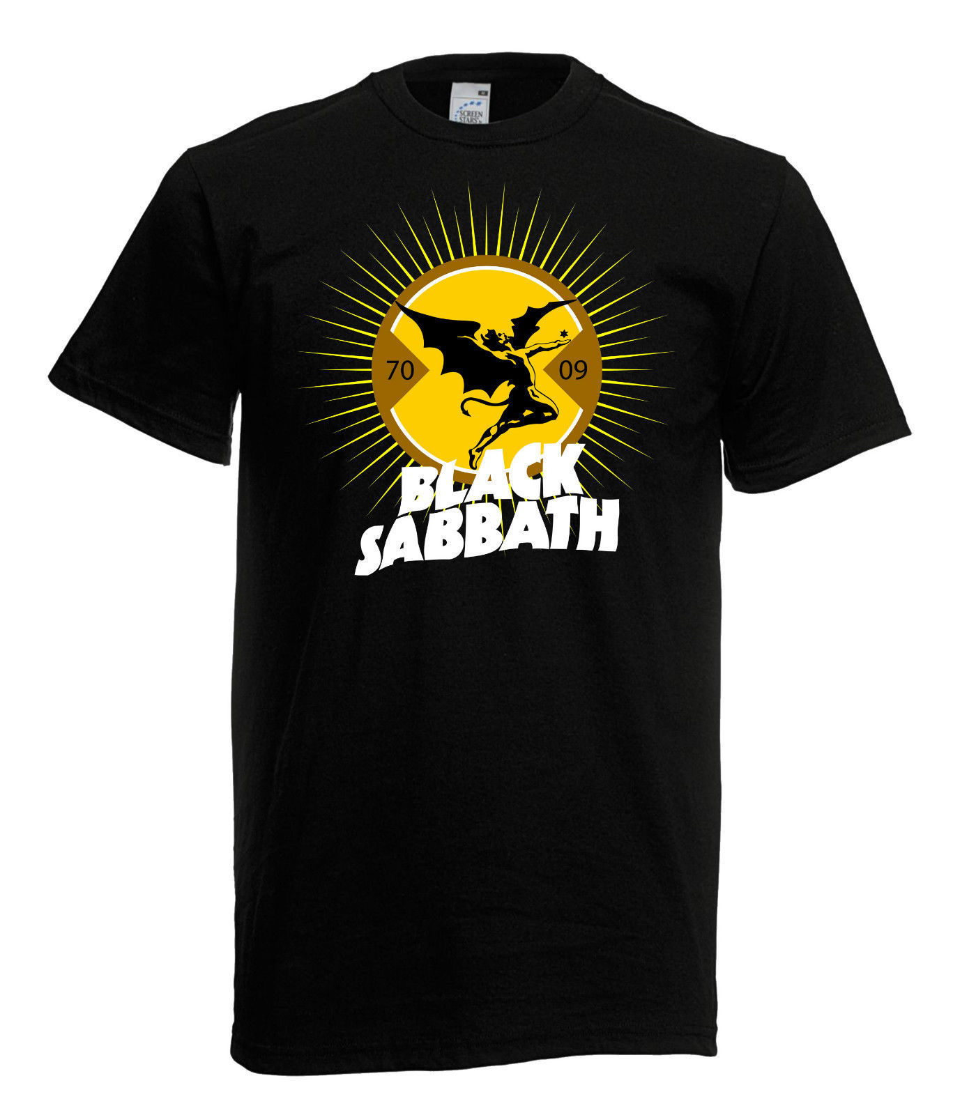 herren men t shirt black sabbath 2 heavy metal rock t shirts. Black Bedroom Furniture Sets. Home Design Ideas