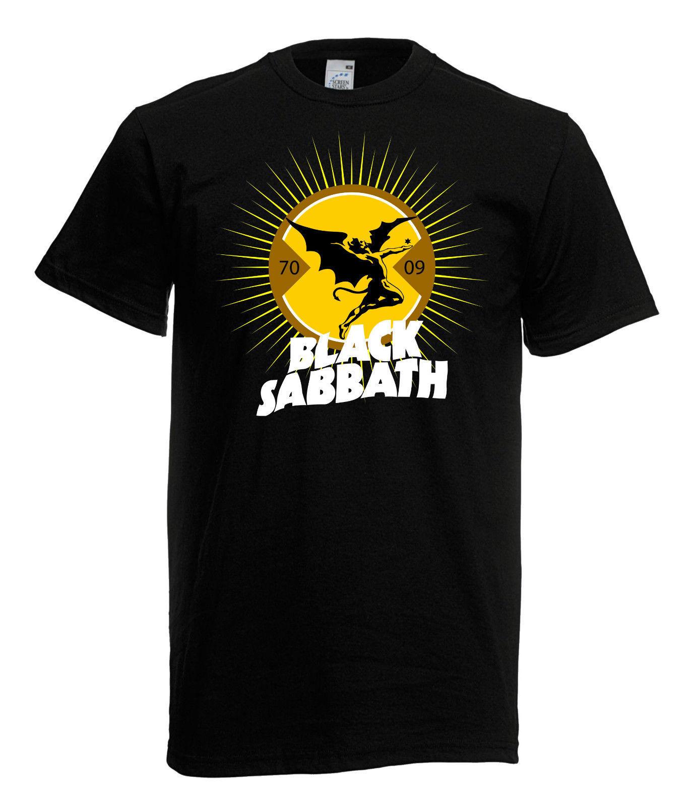 herren men t shirt black sabbath 2 heavy metal rock t shirts. Black Bedroom Furniture Sets. Home Design Ideas