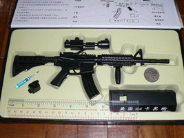 M4 Carbine assault  rifle display model, scale 1/3 - $29.99