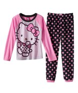 Hello Kitty Polka-Dot Pajama Set Girls Size 6 - $27.60