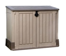 Keter Store-It-Out MIDI Outdoor Resin Horizontal Storage Shed Patio Rubb... - $155.26