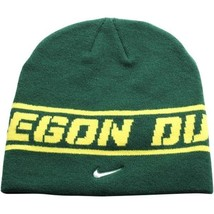 "Nike Oregon Ducks Sideline Player Knit Hat - Green ""Free Shipping in USA"" - £8.40 GBP"