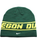 "Nike Oregon Ducks Sideline Player Knit Hat - Green ""Free Shipping in USA"" - $10.89"