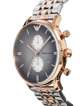 EMPORIO ARMANI AR1721 ROSE GOLD-TONE STAINLESS STEEL MENS WATCH image 2