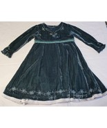 Wooden Soldier Girls Christmas Holiday Dress Green Size 4 - $30.00
