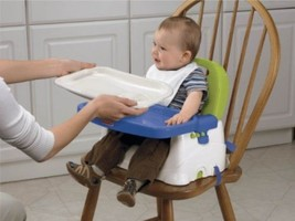 Adjustable Feeding Tray Booster Seat Chair Fisher Price Baby Babies Inf... - $63.58