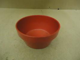 MGD Flower Pot 8 1/2in Diameter x 4 1/4in H Red Classic Round Ceramic - $16.92
