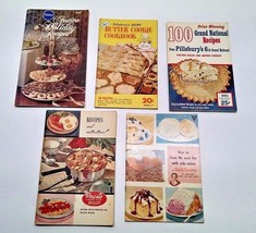 Lot of 5 Vintage Cookbooks Pillsbury Presto Bet... - $8.95