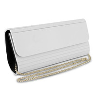 Mad Style Acrylic Elongated Women Girl Clutch, ... - $6.75