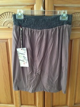 women's mocha skirt with flap by element size medium - $24.99