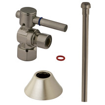 Trimscape CC43108DLTKB30 Traditional Plumbing Toilet Trim Kit, Satin Nickel - $66.03