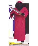 PLUS SIZE RED INVISIBLE FACE ROBE ONE SZ FITS 44-50 - $30.00