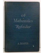 A Mathematics Refresher American Edition by A. Hooper - $4.99